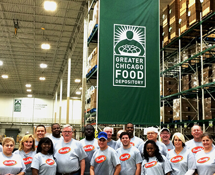 Buddig Teams Up to Fight Hunger