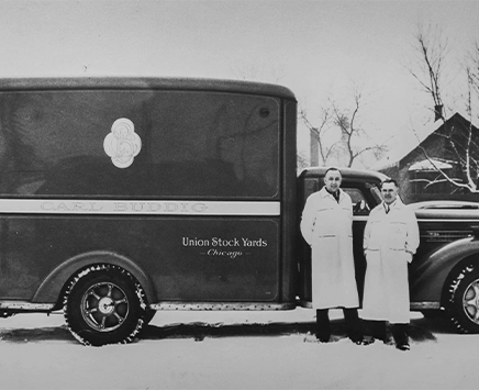 Historic Buddig Delivery Truck